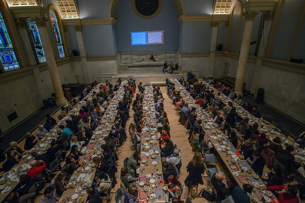 Koreas dinner with 250 people